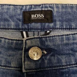 Hugo Boss Stretch Straight Leg Denim Jeans 38/32